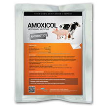 AMOXICOL -Animals Antibiotic- veterinary medicine for cattle made in Viet Nam