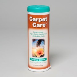 CARPET CARE RUG & ROOM DEODORIZER TROPICAL BREEZE #0017