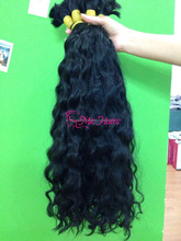 Top product 100 % Vietnamese human loose wavy bulk virgin hair