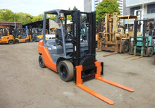 USED TOYOTA FORKLIFTS in DIESEL, GASOLINE, BATTERY available