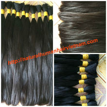 Top quality bulk Brazillian human hair no short hair and no hidden synthetic fibers