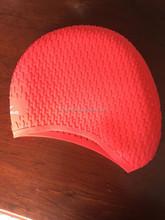 Adult silicone swim cap