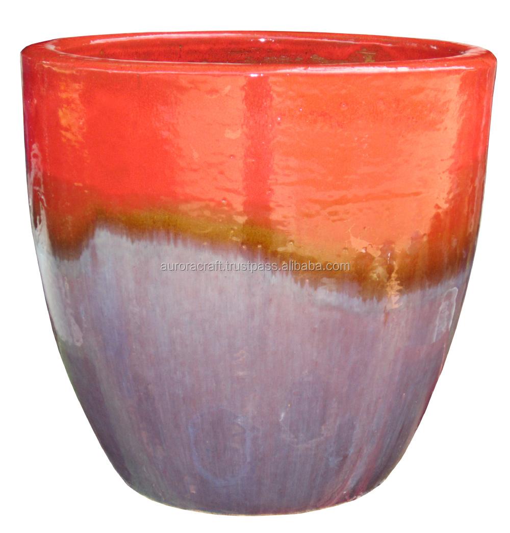 garden pots buy large ceramic flower pots glazed pottery pots large