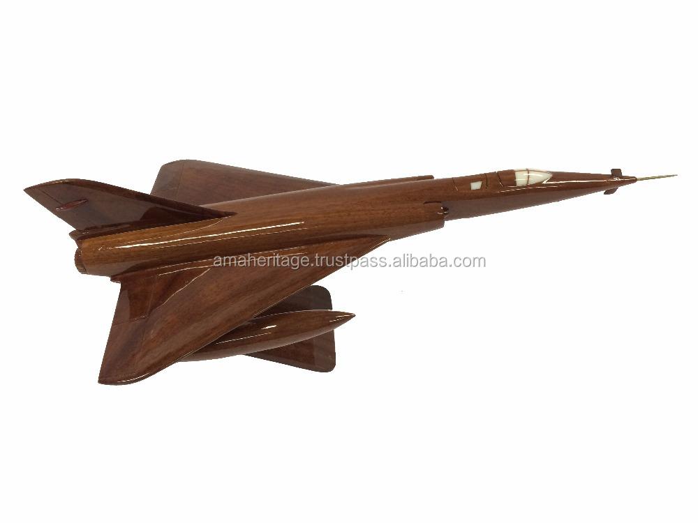 طائرات ميراج اليدوية <span class=keywords><strong>الخشب</strong></span>ية نموذج المكتب