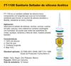 FINOTECH-1100 Sanitario Sellador de silicona Acetica