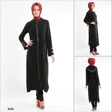 ALL84 2015 New Fashion Exclusive Hot Selling short Sleeve Turkish Tunic, hijab and Abaya