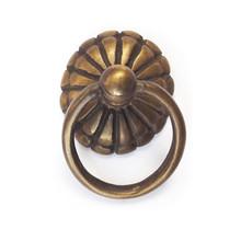 """Brass Ring tiradores-golden melón placa posterior ( medio ) 3-1 / 4 """""""