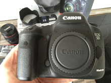 For New Sealed Canon EOS 5D Mark III 22.3 MP Digital SLR Camera W/3 CanonEF Lens FLASH,GRIP,WiFi