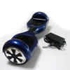 Blue color American warehouse smart motorcycle electric two wheel self io hawk electric scooters with LED light Remote