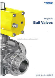 Hot selling hygienic ball valve for retail shop for sanitary industry , other sanitary products also available