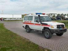 New Toyota Land Cruiser Hardtop HZJ78L 4x4 Ambulance 2014-LHD