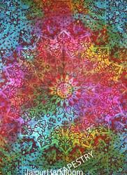 Psychedelic 3 D Star Mandala Tapestry, Bohemian Boho Bedding Bedspread