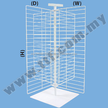 Table X-Stand, Display Rack, Display Stand, Wire Stand, Wire Display Rack, Rack
