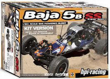 For New Brand New HPI Racing 10610 Baja 5B SS Kit with Clear Body