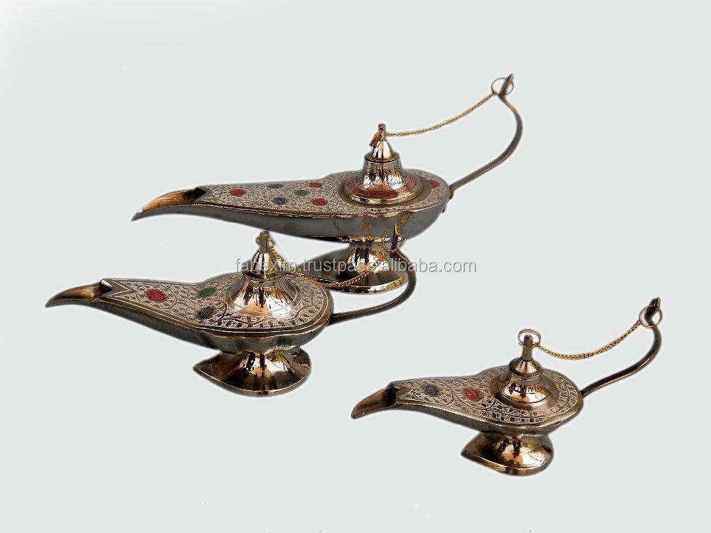 decorative showpiece for home decoration aladdin chiraag handmade polyresin antique vase showpiece for home decor