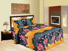 indian Chocolate India Inspired Bedding cotton bed sheet 2015 designs 100 cotton brushed hometextile microfiber fabric