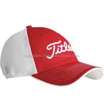 Golf cap made of cotton