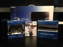 Genuine For Sony Playstation 4 PS4 500GB Console(Latest Model)+5 GAMES & 2 Controllers