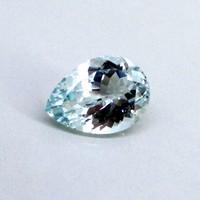 Natural Blue Topaz Single Gem Piece