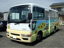 Utilizado autobuses - NISSAN civil BUS KINDERGARTEN BUS trim ( RHD 821198 DIESEL )