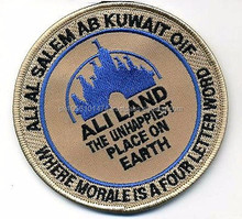 GULF WAR TROPHY ALI AL SALEM AB KUWAIT Ali Land - Unhappiest Place on Earth