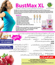 Attractive and beautiful breast with BustMax XL