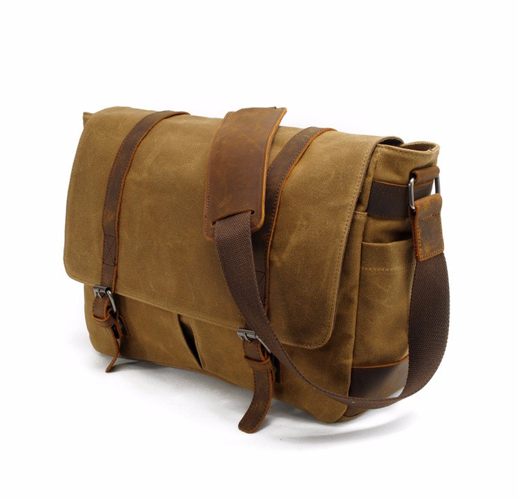 canvas messenger bag with leather trim  (9).jpg