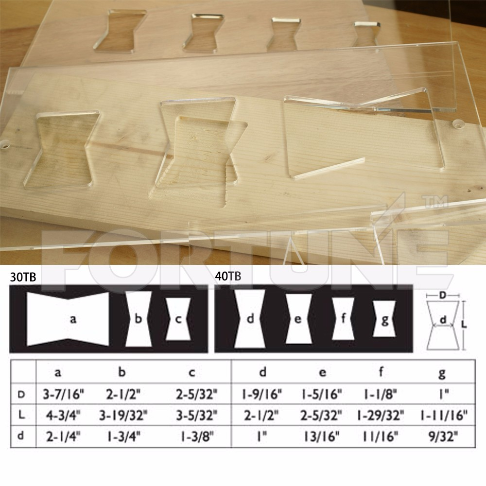 Acrylics Butterfly Key Inlay Templates Router Accessories Is ...