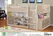 CK9879 Children Furniture Kids Room Cabin Bed