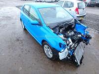 vw polo r6 2015 damaged car