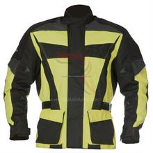 2015 new design men cordura motorbike jacket factory price