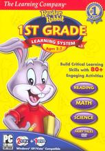 Reader Rabbit 1st Grade Learning System Software