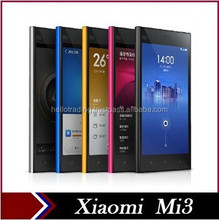 "Original Xiaomi Mi3 M3 Qualcomm Snapdragon 800 Quad Core 3G WCDMA Android Smartphone Cell Phones 13MP Camera MIUI V6 5.0"" IPS"