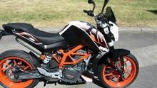 New KTM 200 DUKE