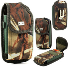 Camouflage Carrying Belt Clip Pouch Fits Otterbox Defender iPhone 4S 5S 6 Plus