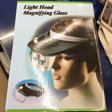 Light Head Magnfying Glass