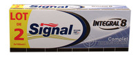 Signal intergral 8 toothpaste (pack of 2)