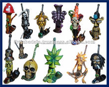 Figurine Shaped Hand Crafted Smoking Pipes