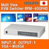 Easy to use KVM Switch with vga extender function for industrial use , small lot order available