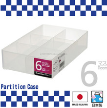 Stacking and Reliable plastic storage case with multi-purpose