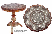 carving wooden frame glass top dining table