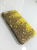 Genuine Reptile Lizard Skin Case For iPhone 6 Yellow