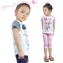"""Popular Chinese """"Little Lady"""" Quality Tee O-Neck T-Shirt Bangladesh for Girls"""