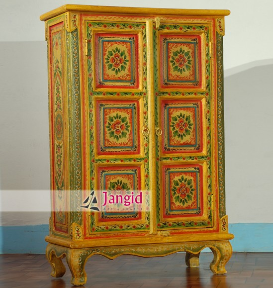 Wooden Bedroom Almirah Painted Furniture Wholesale