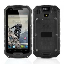 4.5 Inch Rugged Quad Core Android 4.2 Mobile Phone - Black