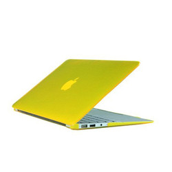 """Protective High Quality Crystal Clear Hard Case for macbook 12"""" with 16 Colors"""