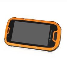 original S09 rugged smartphone with NFC black orange options quad core android phone 3g gps wifi bt dual SIM 8MP rear camera