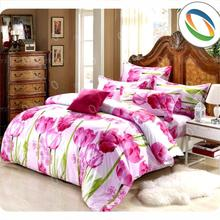 hot selling printed bed set polyester bed sheet set Selecting Attractive Magnificent