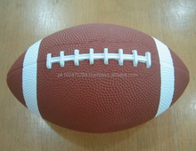 Custom Design Rubber Rugby Ball Made in Sialkot