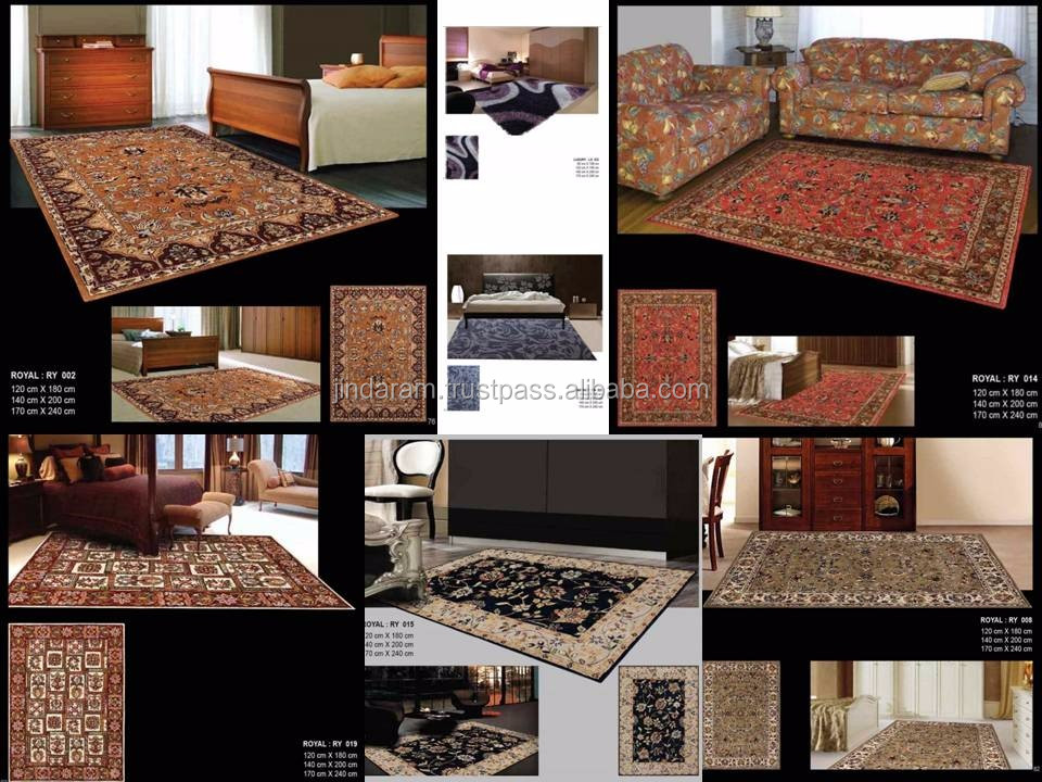 Anti slip wall to wall carpets for hotel bedrooms.JPG